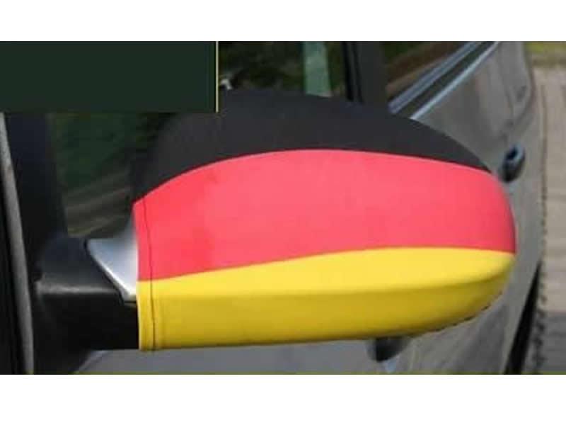 2x fu ball deutschland fahne flagge auto spiegel wm 2014 for Spiegel und fahne