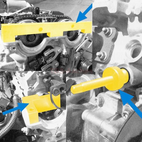 Steuerkette Wechsel Motor Werkzeug Nockenwellen BMW 1er
