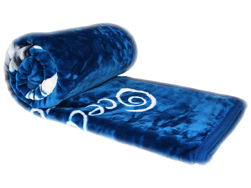 wolldecke kuscheldecke delphin muster decke 160 x 220 cm kuschel weich. Black Bedroom Furniture Sets. Home Design Ideas